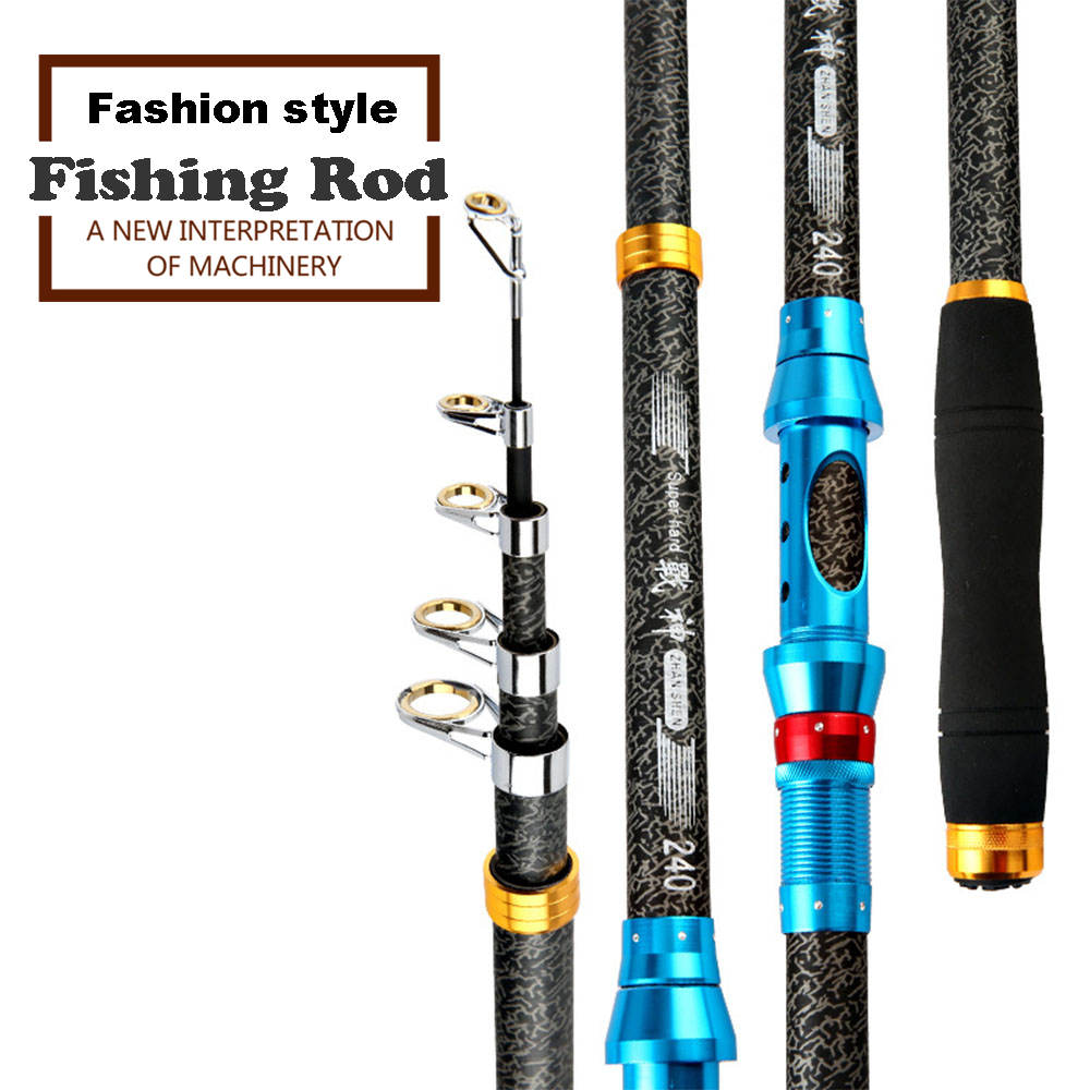 Sea Telescopic Fishing Rods Carp Fishing Spinning Rod Ultra Light Spinning Casting Feeder Rod For Fishing Reels Travel Tools
