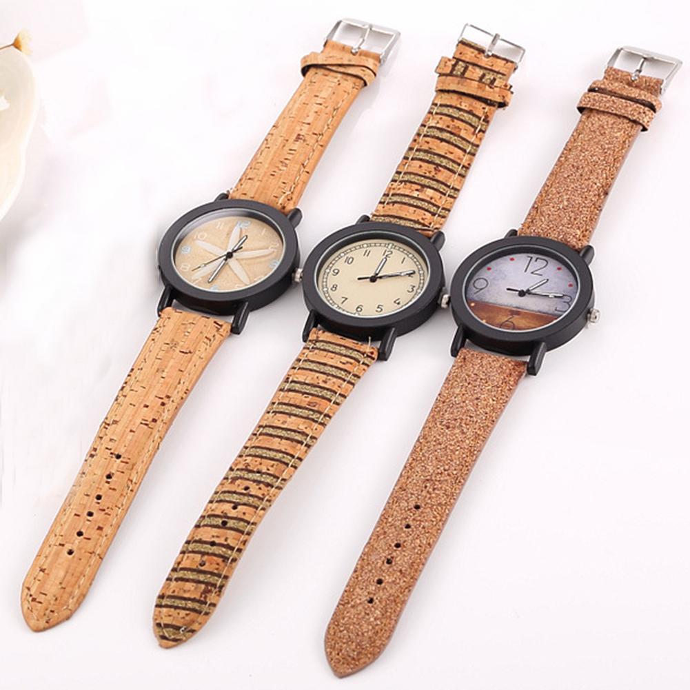 Imitation Wood Watch Men Women Quartz Wooden Watch Khaki Man Wristwatch Soft Band Male Wrist Clock Saati мужские часы Erkek Kol