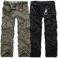 Брюки-карго мужские повседневные, Длинные свободные штаны, много карманов, камуфляжные брюки в стиле милитари, уличные джоггеры, большие ра...