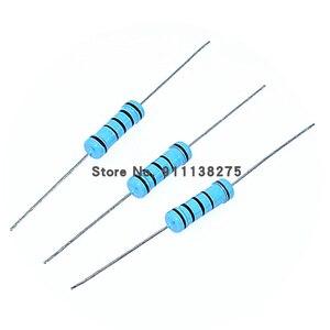 20 шт., металлический пленочный резистор 2 Вт 1% 0R 2,2 M 0 2,2 10 100 120 150 220 270 330 390 470 1K 2,2 K 4,7 K 10K 15K 100K 470K 1M ом|Резисторы|   | АлиЭкспресс