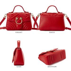 Image 5 - EMINI maison Star matériel en cuir véritable sac à main de luxe sacs à main femmes sacs concepteur sacs à bandoulière pour femmes sac à bandoulière