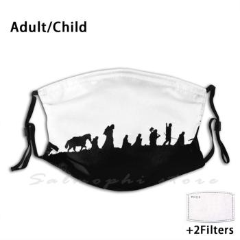 The Party Adult Kids Anti Dust Filter Diy Mask Lotr Gandalf The Hobbit Tolkien Middle Earth Frodo Bilbo Legolas Aragorn Return image