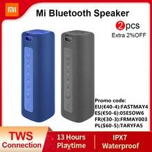 Xiaomi Mi портативный Bluetooth динамик 16 Вт TWS подключение высокое качество звука IPX7 водонепроницаемый 13 часов воспроизведения