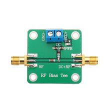 DC Bias 10 6000MHz 6GHz RF Tee Broadband Microwave DC Bias Blocker for HAM Radio RTL SDR LNA Low Noise Ham Radio Amplifier