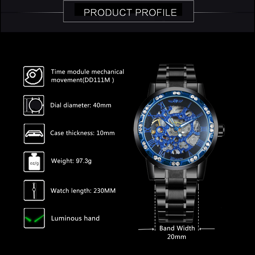 Hdebd9aeef4a14cb3b27885ee346bd548a WINNER Fashion Business Mechanical Mens Watches Top Brand Luxury Skeleton Dial Crystal Iced Out Wristwatch Hot Sale Clock 2019