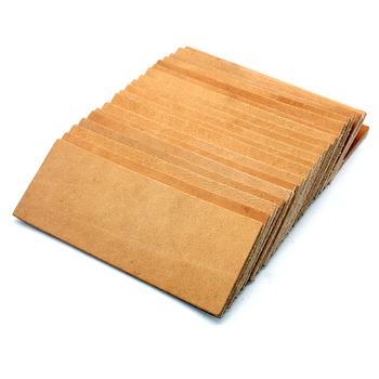 【Skóry】 nóż do polerowania ostrzałka kamień 2 boczne skórzane ostrzenie płyta honowanie Strop związek szlifowanie nóż wklej tanie i dobre opinie Ekologiczne Temperówki Wood SHARPENER008 black white orange