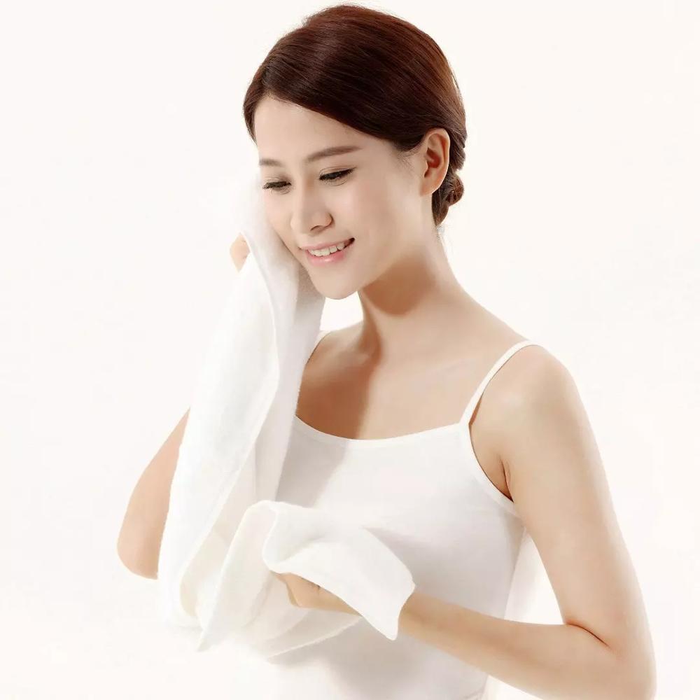 3 предмета в комплекте высококачественные бледно желтые полотенца