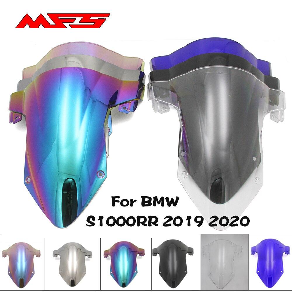 Original MFS Motorcycle Windscreen Iridium Windshield Screws Bolts Accessories For BMW S1000RR 2019 2020 Black