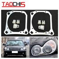 TAOCHIS Car Styling frame adapter module DIY Bracket Holder for Hyundai Sonata Hella 3R G5 HID Bi xenon Projector lens holder for holder bracketholder adapter -