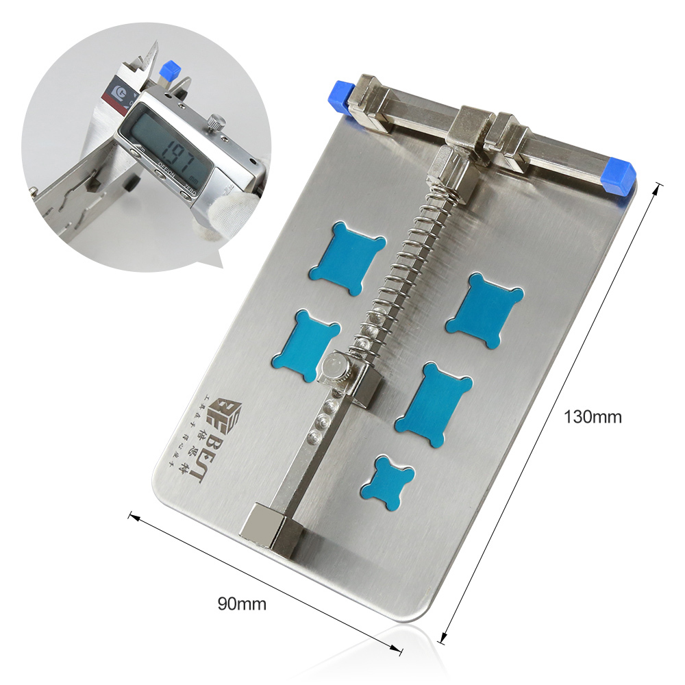 001E DIY FIX Stainless Steel Circuit Board PCB Holder Fixture Work Station for Chip Repair Tools Repair-Kits
