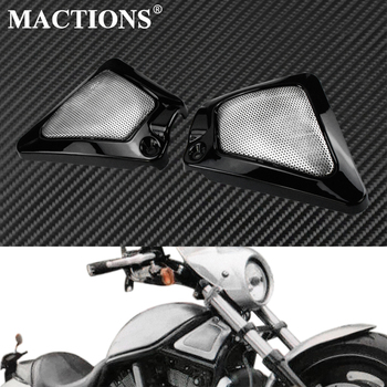 Motorcycle Front Panel Airbox Frame Air Intake Side Cover Left&Right Sides For Harley Night Rod VRSCD 2006-2008 V-Rod VRSCAW