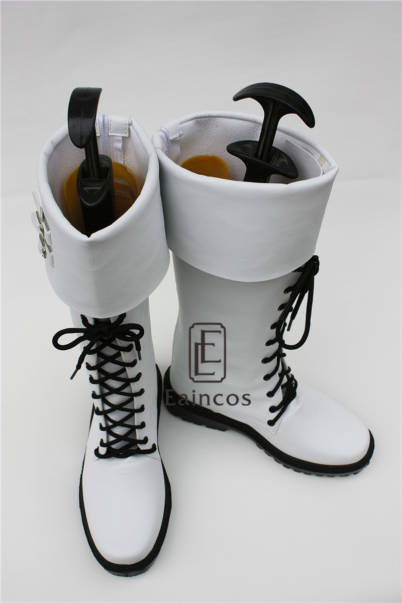 Anime DMMD Dramatical Murder Clear White Boots Cosplay Shoes Custom Made-in Shoes from Novelty & Special Use    3
