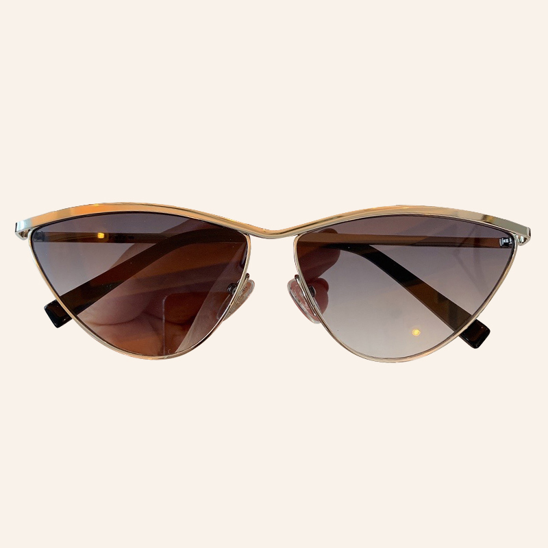 Fashion Small Sunglasses Women Men Luxury Brand Mirror Cat Eye Sun Glasses Male UV400 Shades
