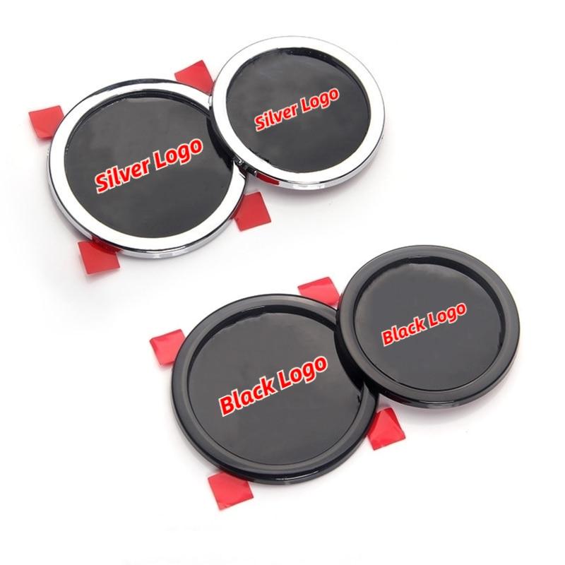 cheapest 2pcs lot Reflective Car body Sticker for Peugeot 206 208 301 307 308 407 508 2008 3008 Car Accessories