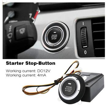 12V Car Smart Alarm System Push Engine Start Stop Button Lock Ignition Immobilizer With Remote Keyless Go Entry System Dropship universal car alarm system driving security push button engine start rfid lock ignition starter with remote keyless entry system