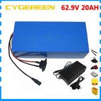 17 s 1500 w 62.9 v 20ah bateria de lítio 63 v 20.3ah ebike bateria 71.4 volts 20amp para panasonic ncr18650pf 63 v bateria
