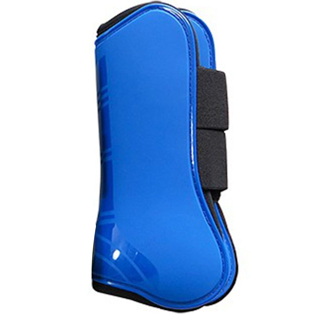 4pcs Riding Shock Absorbing Sports Equestrian Equipment Horse Tendon Boot Leg Guard Protective Gear PU Shell Outdoor Running