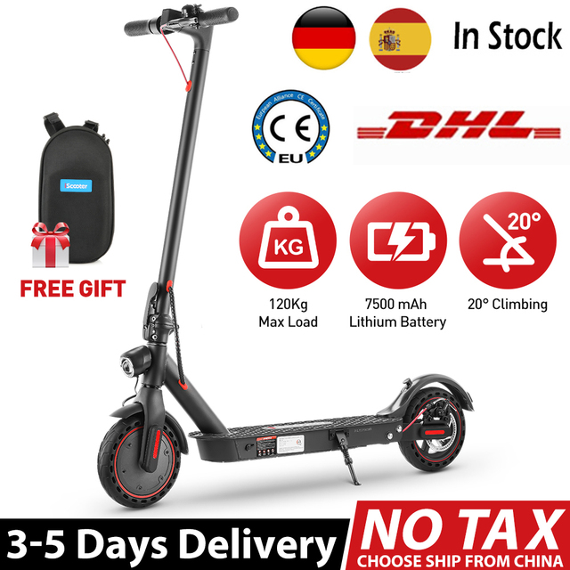 iScooter i9pro Electric Scooter Smart APP 30KM/H 350W Electric Scooter Adult Electric kick Scooter Fold Mini Scooter NO TAX 1