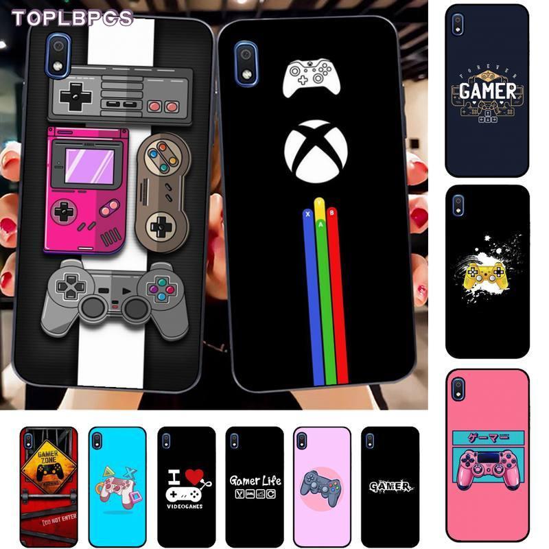 TOPLBPCS Gamer GamePad DIY telefon Fall abdeckung Shell für Samsung A10 20s 71 51 10 s 20 30 40 50 70 80 91 A30s 11 31