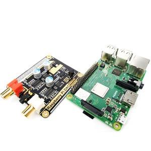 Image 4 - Volumio moode Raspberry Pi DAC Raspberry Pi 3B + HIFI podwójne dekodowanie DAC I2S z 5V DC zasilacz awaryjny B3 003
