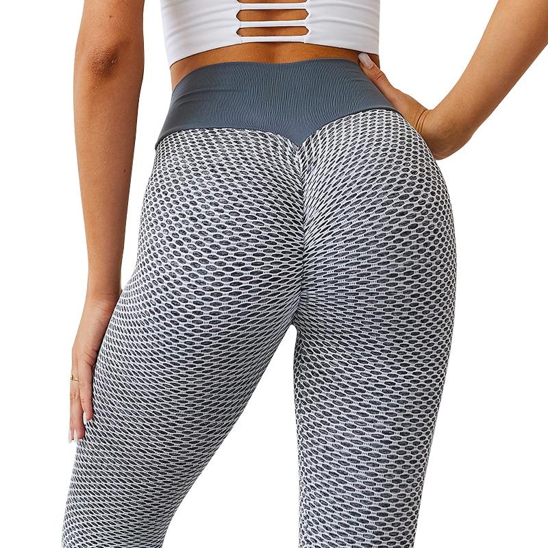 Yoga & Gym Pants - Breathable Seamless High Waist  3