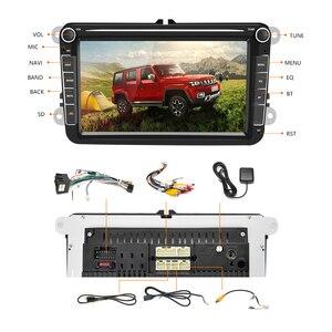 Podofo 2 Din Android автомобильное радио GPS 2 DIN Авторадио автомобильный мультимедийный плеер для Фольксваген Поло Skoda Seat Toledo автомобильный стерео