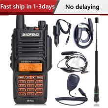BaoFeng UV-9R Plus Waterproof Handheld Walkie Talkie 8Watts UHF VHF Dual Band IP67 HF Transceiver UV 9R Ham Portable Radio(China)