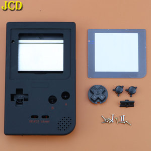 Image 2 - JCD 1 قطعة البلاستيك غطاء كامل الإسكان شل استبدال ل Gameboy جيب لعبة وحدة التحكم ل GBP قذيفة حالة ث/أزرار عدة