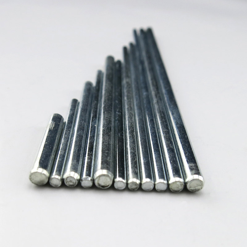 3mm Dia 150mm Length Steel Solid Round Shaft Rod Axles for RC Toy Car 100Pcs