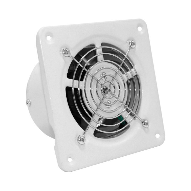 4 Inch Extractor Exhaust Fan Quiet Air Ventilation Fans 25W Wall Window Ventilator For Toilet Bathroom Kitchen Room Use