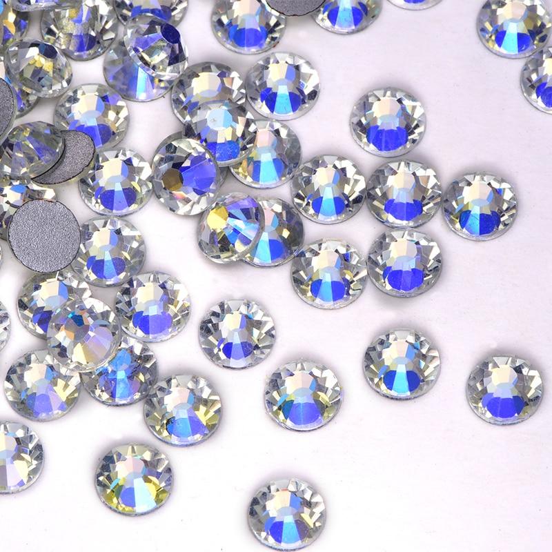 Rhinestone Glass Crystal Gold Wedding Jewellery Arts /& Crafts Pointed Back UK