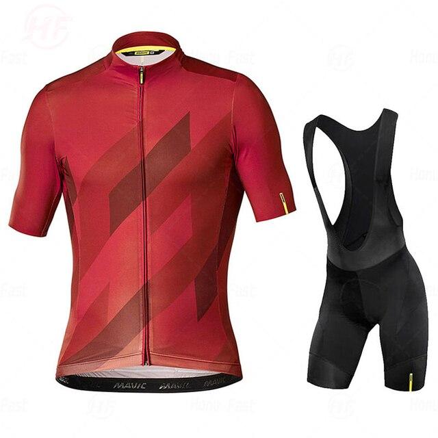 Camisa de ciclismo go pro mavic, conjunto de roupa de verão, equipe de ciclismo, shorts de bicicleta, roupas esportivas 2