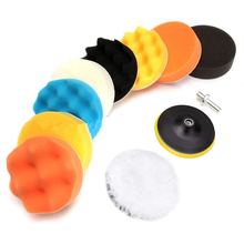 3 Inch Car Polishing Sponge Pads Kit Foam Pad Buffer Kit Polishing Machine Wax Pads for Removes Scratches Auto Care Accessories