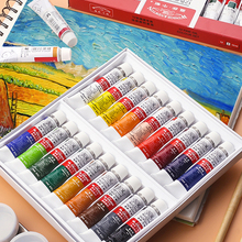 Professional Oil-Paint-Set Drawing-Art Artist for 12/18/24color 12ml