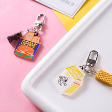 2019 Mini Cute Resin Simulation Food Key Chains Bags Car Key Ring Burger Keychains Women Keychain Accessories Small Gifts Pendant 2019 mini cute resin simulation food key chain bags car key ring burger keychains women keychain accessories small gifts pendant
