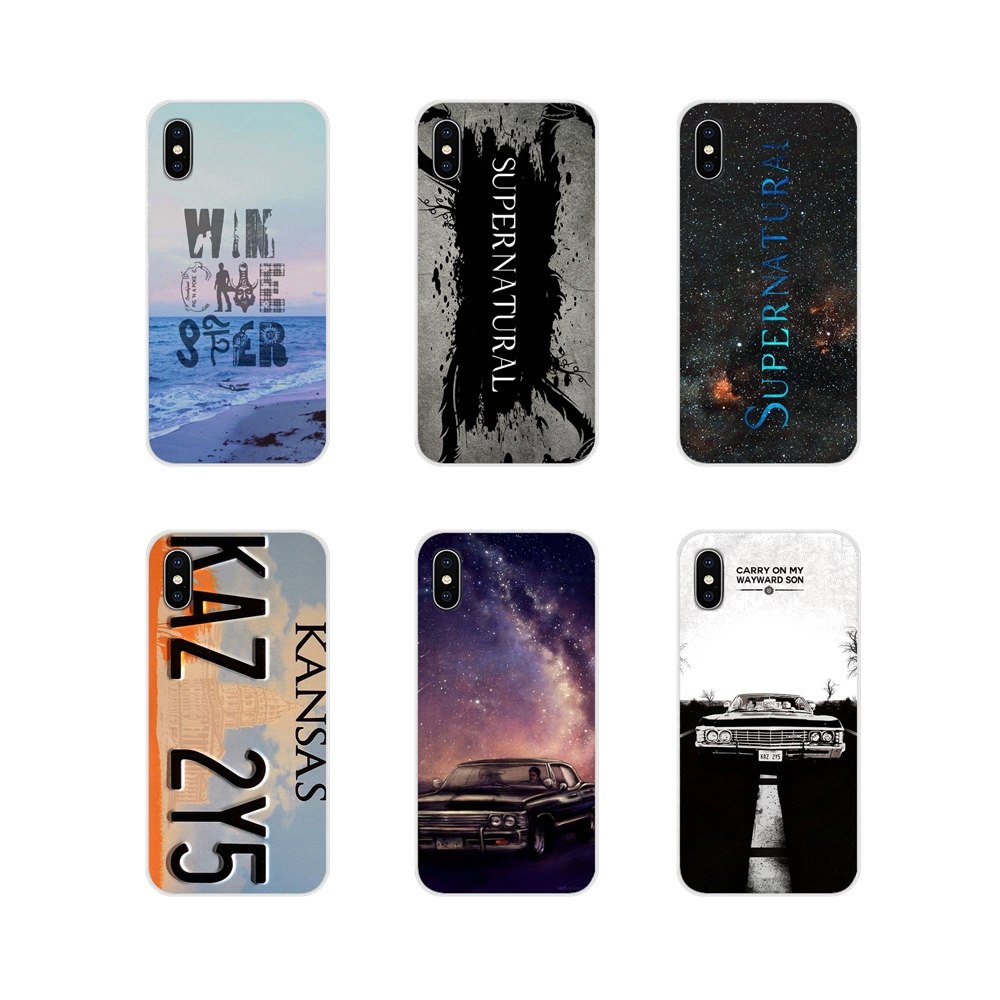 For Huawei G7 G8 P7 P8 P9 P10 P20 P30 Lite Mini Pro P Smart Plus 2017 2018 2019 Covers Supernatural License Plate KANSAS KAZ 2Y5 image