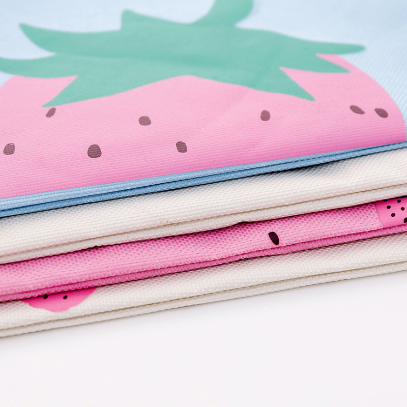 1pcs/pack Strawberry Oxford Brake File Bag Four Styles For You To Choose A4 Ring File Cabinet For Gifts