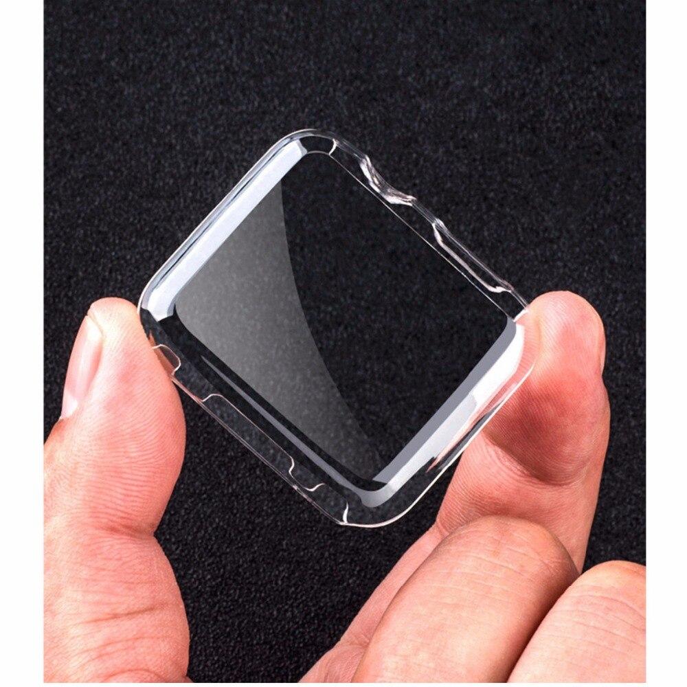 Amortecedor para apple watch 4 5 caso 44mm 40mm iwatch série 3/2/1 42mm 38mm banhado a tela cheia capa protetora do relógio 44 40