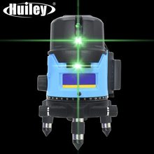 360 gradi Girevole Verde Laser Level Self-leveling Strumento di Misurazione 2/3/5 Linee Verde Laser Orizzontale Verticale Linea
