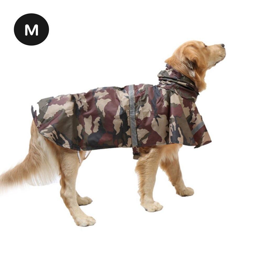 M-XXL дышащий дождевик для щенков, собак, светоотражающий дождевик для собак, водонепроницаемый дождевик для щенков дождевые пальто, мягкая одежда для собак