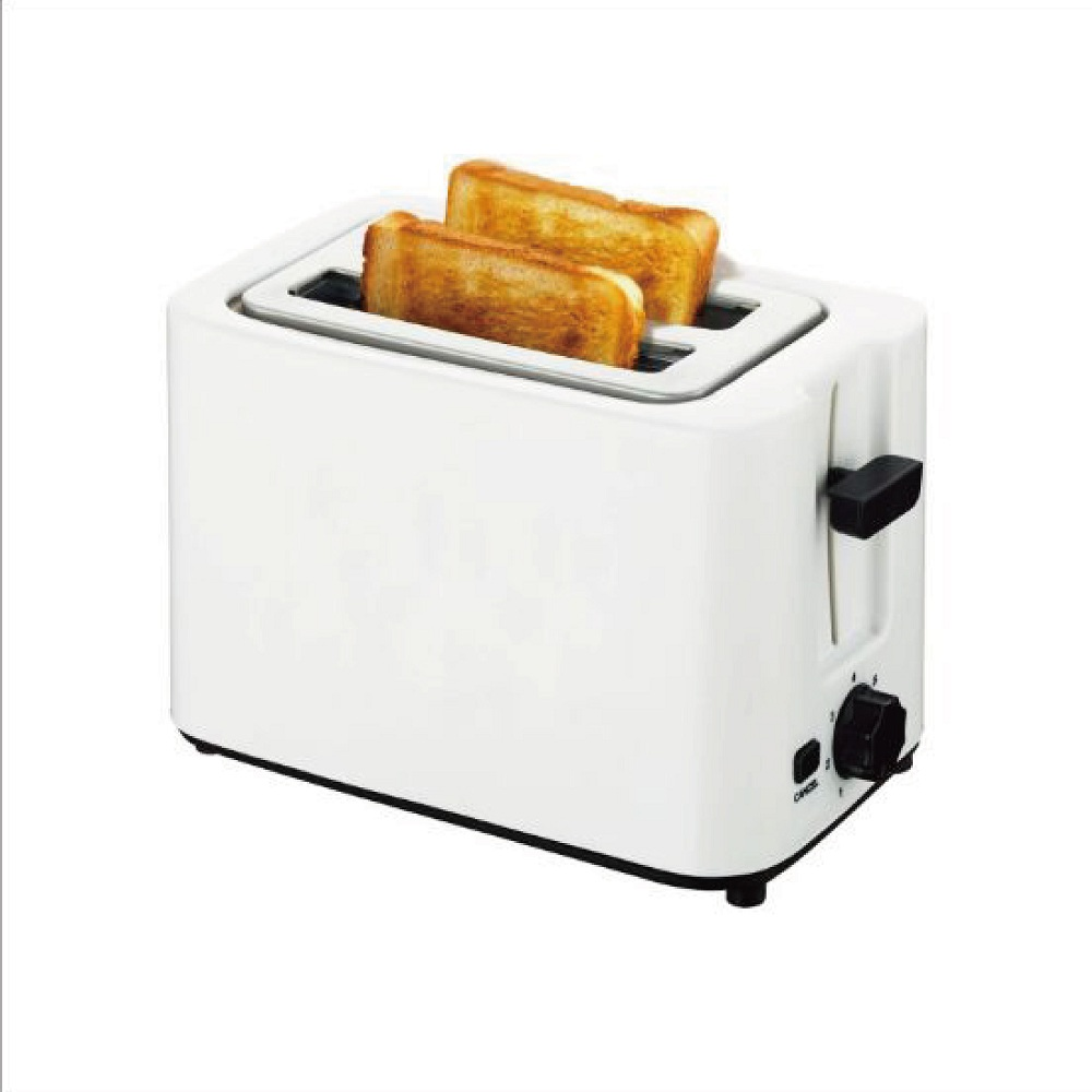 110V white color toaster multi-function sandwich maker mini home toaster double side baker
