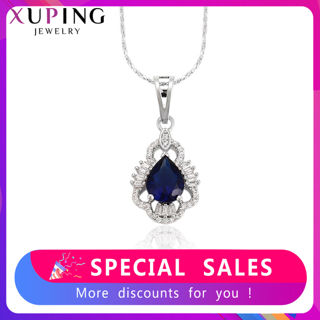 Xuping Elegant Pendant Charm Design With Environmental Copper Jewelry for Girl Women Mother's Day Gift M35-30084
