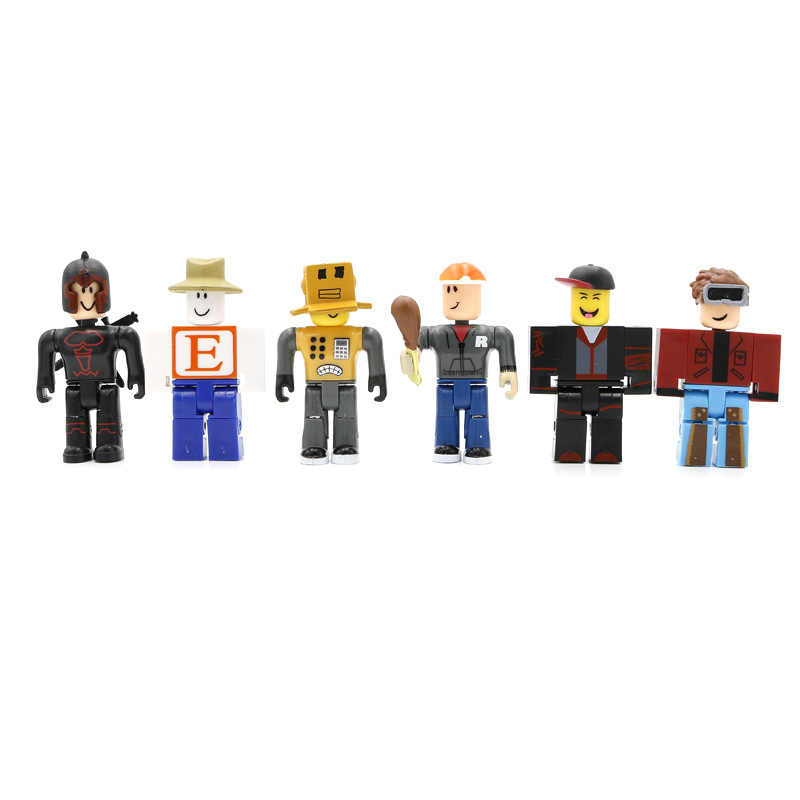 24Pcs Roblox Tekens Action Figures 7Cm Pvc Suite Pop Speelgoed Anime Model Beeldjes Voor Decoratie Collection Gift Voor kids