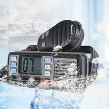 25 w de alta potência vhf banda marinha walkie talkie rádio marinho à prova dwaterproof água walkie talkie mar float presunto inter telefone RS 507M