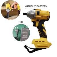 20 v 530nm 1/2 chave de impacto sem fio potência catraca arma ferramenta motorista recarregável Chaves elétricas     -