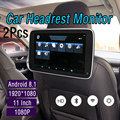 2Pcs Car Multimedia MP5 Player GPS Navigation Android 8.1 1920*1080 Touch Screen For Mercedes Benz WIFI Bluetooth Entertainment