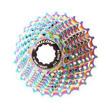 Smllow mtb красочные кассета 10 Скорость 11 12 13 15 17 19 21