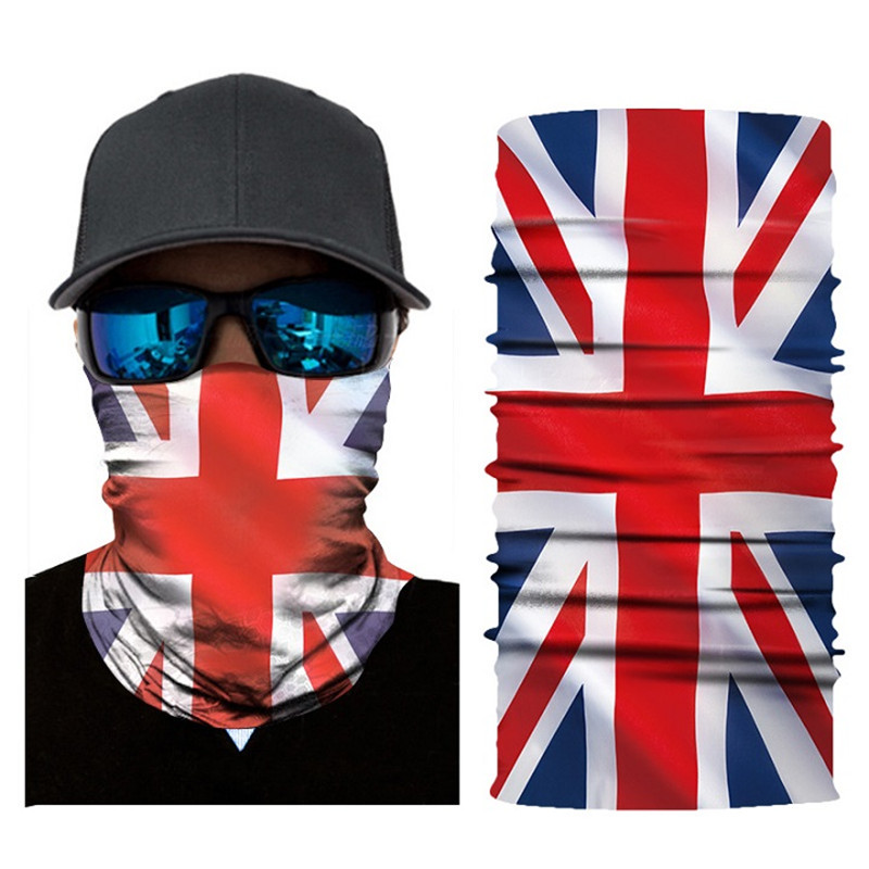 High-Jump Outdoor Bandanas Bike Ciclismo Riding Scarves Polyester Windproof UV Protection Neck Face Mask Hiking Cycling Bandanas