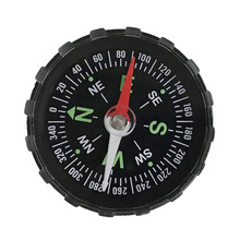 Compass Navigation Survival-Button-Design Mini Guider Practical Hiking Portable Camping