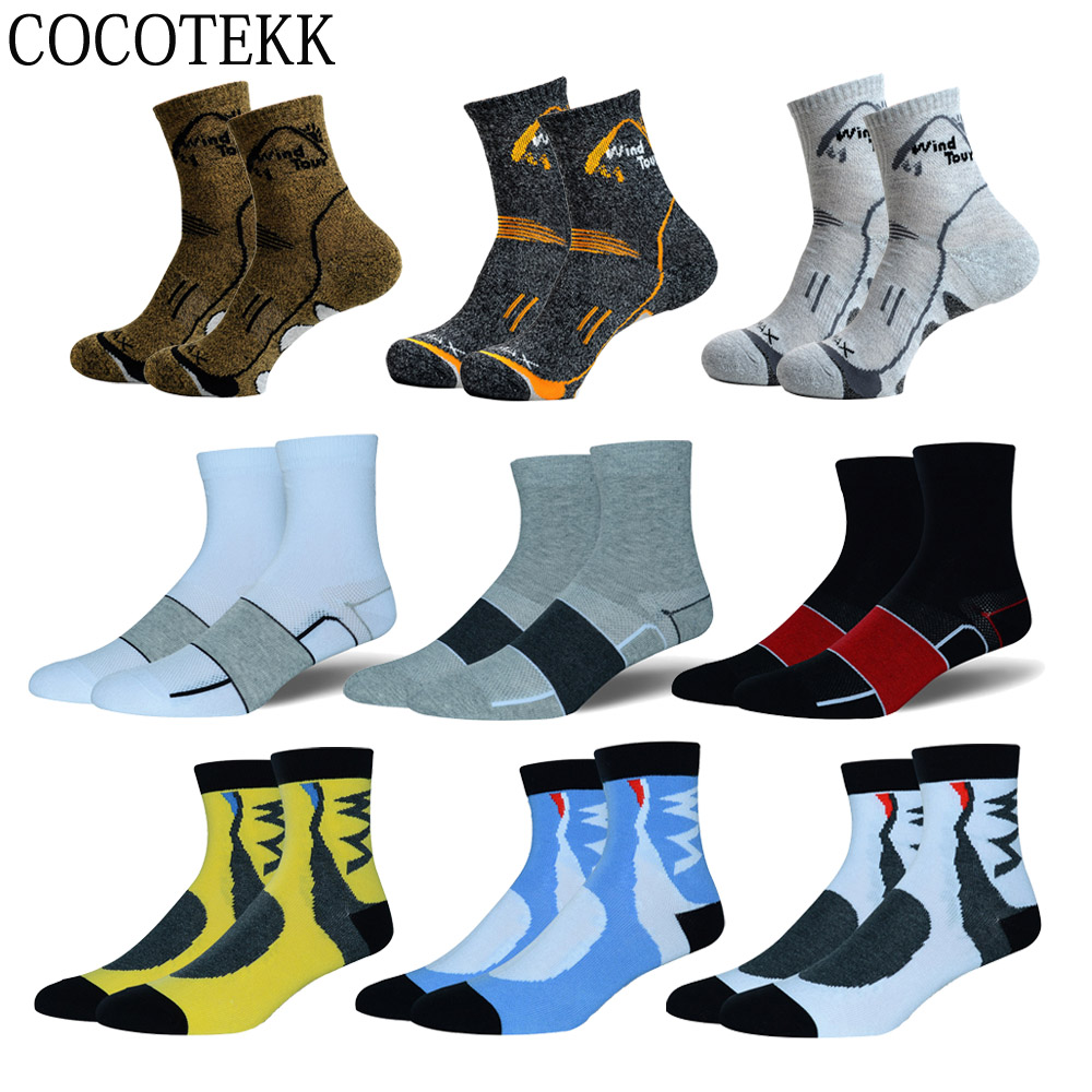 Men Socks Professional High Quality Brand Sport Coolmax Cycling Socks Comfortable Breathable Basketball Running Football Socks